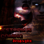 SIMONSEZ - A Storm Is Coming (Front Cover)