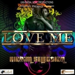 VARIOUS - Love Me Riddim (remixes) (Front Cover)
