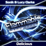 SONIK/LUCY CLARKE - Delicious (Front Cover)