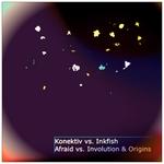 KONEKTIV vs INKFISH - Afraid Vs Involution & Origins (Front Cover)