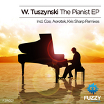 W TUSZYNSKI - The Pianist EP (Front Cover)