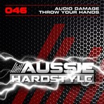 AUDIO DAMAGE - Throw Your Hands (Front Cover)
