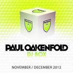 OAKENFOLD, Paul/VARIOUS - DJ Box November/December 2012 (Front Cover)
