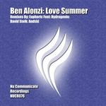 ALONZI, Ben - Love Summer (Front Cover)