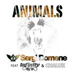 SERGI DOMENE feat INFINITY DJS & CHALUX - Animals (Front Cover)