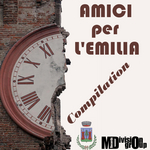 VARIOUS - Amici Per L'emilia Compilation (Front Cover)