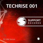 TOKS, Dmitriy/VARIOUS - Techrise 001 (unmixed tracks) (Front Cover)