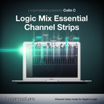 LOOPMASTERS - Logic Mix Essential Channel Strips (Sample Pack Logic Strip Settings) (Front Cover)