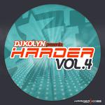 DJ KOLYN - DJ Kolyn Presents Harder Vol 4 (Front Cover)