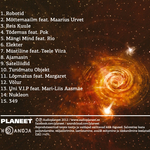PLANEET - Ajamasin (Back Cover)