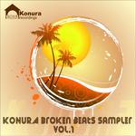VARIOUS - Konura Broken Beats Sampler Vol 1 (Front Cover)