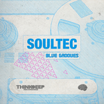 SOULTEC - Blue Grooves EP (Front Cover)