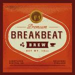FANU - Breakbeat Brew (Front Cover)