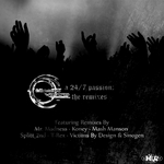 CEMON VICTA - A 24/7 Passion (The remixes) (Front Cover)