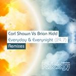 Everyday Everynight (remixes)