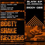 ZIGGY GEE - Blank EP (Front Cover)