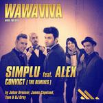 SIMPLU feat ALEX - Convict (The Remixes) (Front Cover)