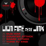LION FIRE feat JINX - Dub War (Front Cover)