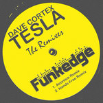 CORTEX, Dave - Tesla (The remixes) (Front Cover)
