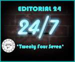 ED WIZARD/DISCO DOUBLE DEE/THE NEW BLACK/RABO & SNOB/VINYLADDICTED - Twenty Four Seven (Front Cover)