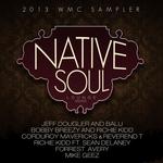 VARIOUS - Native Soul Lounge WMC 2013 Sampler (Front Cover)