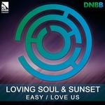 LOVING SOUL/SUNSET - Easy (Front Cover)