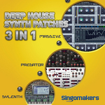 Deep House Synth Patches 3 In 1 (Sample Pack Massive/Sylenth1/Predator Presets)
