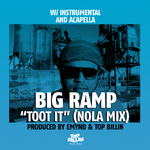 EMYND/TOP BILLIN feat BIG RAMP - Toot It (Front Cover)