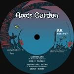 SUN-I TAFARI & CATE FERRIS & LEROY HORNS & MANASSEH - Hustling Rhythm (Front Cover)