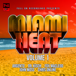 VARIOUS - Miami Heat Volume One (Front Cover)