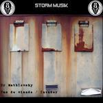 DR MATHLOVSKY - Pas De Viande/Invader (Front Cover)
