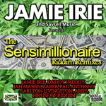 VARIOUS - Sensimillionaire Riddim (Aries remxies) (Front Cover)