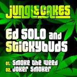 ED SOLO/STICKYBUDS - Jungle Cakes Vol 17 (Front Cover)