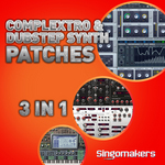Complextro & Dubstep Synth Patches 3 in 1 (Sample Pack Massive/Sylenth1/Preadtor Presets)