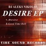 DJ ALEKS NIKOLOV - Desire EP (Front Cover)