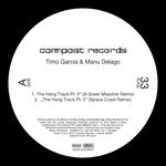 GARCIA, Timo/MANU DELAGO - The Hang Track Part II (remixes) (Front Cover)