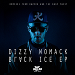 DIZZY WOMACK - Black Ice EP (Front Cover)