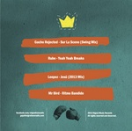 GACHO REJECTED/RUBE/LOOPEZ/MR BIRD - Digest Music Vol 3 (Back Cover)