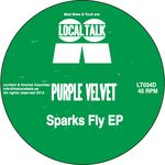 PURPLE VELVET - Sparks Fly EP (Front Cover)