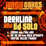 DEEKLINE/ED SOLO - Jungle Cakes Vol 19 (Front Cover)