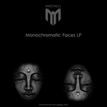 VARIOUS - Monochromatic Faces (Front Cover)