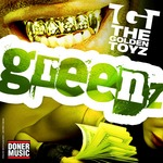 GOLDEN TOYZ, The - Greenz EP (Front Cover)