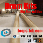 Loops Lab Drum Kit - Hip Hop edition (Sample Pack WAV/Kontakt/Logic)
