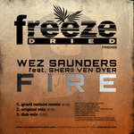 SAUNDERS, Wez feat SHERII VEN DYER - Fire (Front Cover)