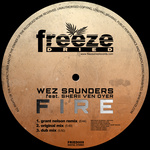 SAUNDERS, Wez feat SHERII VEN DYER - Fire (Back Cover)