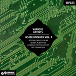 VARIOUS - Inside Univack Vol 1 (Back Cover)