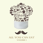 VARIOUS - All You Can Eat Vol 1 (Front Cover)