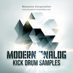 Bluezone Corporation: Modern Analog Kick Drum Samples (Sample Pack WAV/AIFF)