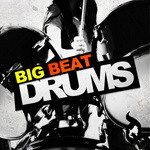 DELECTABLE RECORDS - Big Beat Drums (Sample Pack WAV/APPLE) (Front Cover)