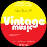 SUNNER SOUL/BANANA LOVER - Alfa Disco (Front Cover)